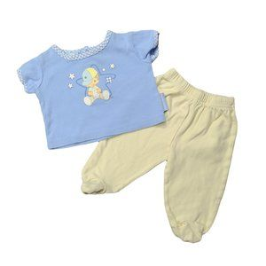 PRECIOUS MOMENTS Short Sleeve Top 0-3M